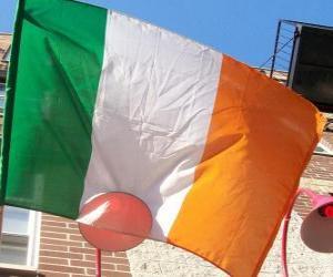 puzzel Vlag van Ierland
