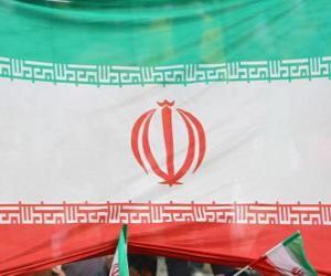 puzzel Vlag van Iran