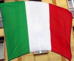 puzzel Vlag van Italië