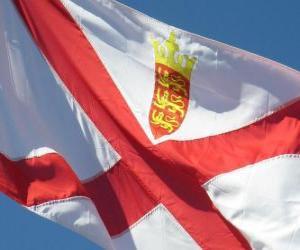puzzel Vlag van Jersey