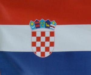 puzzel Vlag van Kroatië