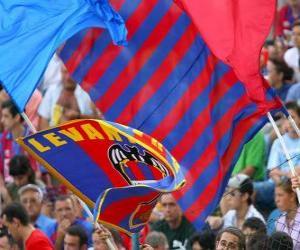 puzzel Vlag van Levante UD