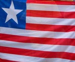 puzzel Vlag van Liberia