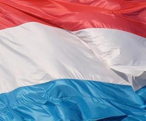 puzzel Vlag van Luxemburg