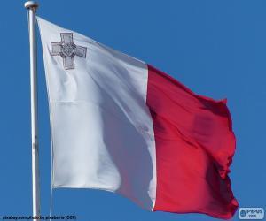 puzzel Vlag van Malta