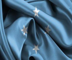 puzzel Vlag van Micronesia