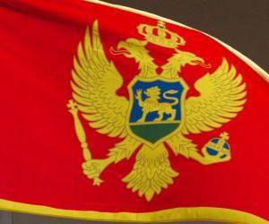 puzzel Vlag van Montenegro