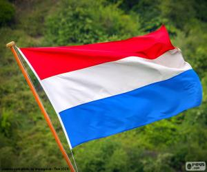 puzzel Vlag van Nederland