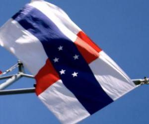 puzzel Vlag van Nederlandse Antillen