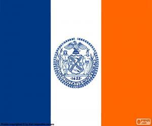 puzzel Vlag van New York