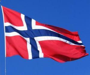 puzzel Vlag van Noorwegen
