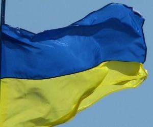 puzzel Vlag van Oekraïne