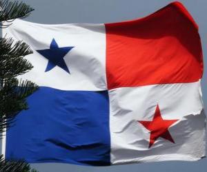 puzzel Vlag van Panama