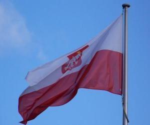 puzzel Vlag van Polen
