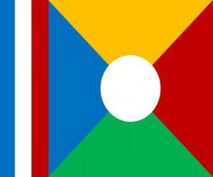 puzzel Vlag van Réunion