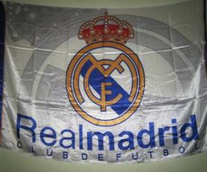 puzzel Vlag van Real Madrid