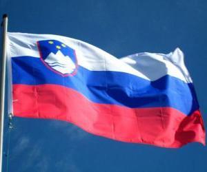 puzzel Vlag van Slovenië