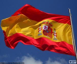 puzzel Vlag van Spanje