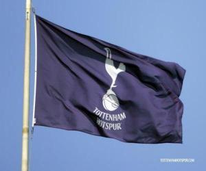 puzzel Vlag van Tottenham Hotspur FC