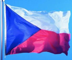 puzzel Vlag van Tsjechië