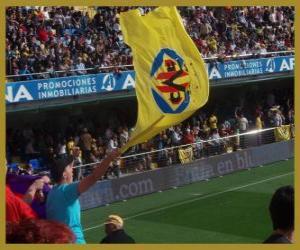 puzzel Vlag van Villarreal CF