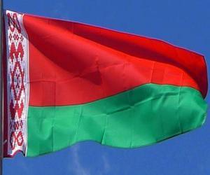 puzzel Vlag van Wit-Rusland