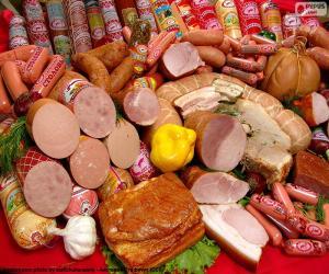 puzzel Vleesproducten
