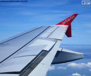puzzel Vleugel van een vliegtuig