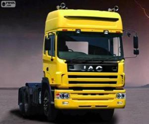 puzzel Vrachtwagen Jac Runner