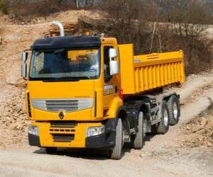 puzzel Vrachtwagen Renault Premium Lander