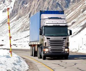 puzzel Vrachtwagen Scania R 470