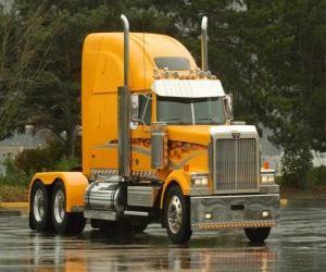 puzzel Vrachtwagen zonder aanhangwagen