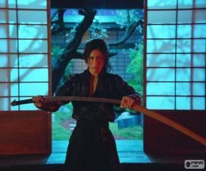 puzzel Vrouwelijke samurai