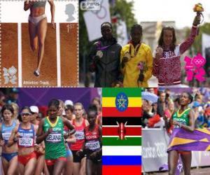 puzzel Vrouwen marathon Londen 2012
