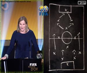 puzzel Vrouwen wereld Coach FIFA 2015