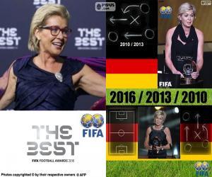 puzzel Vrouwen wereld Coach FIFA 2016