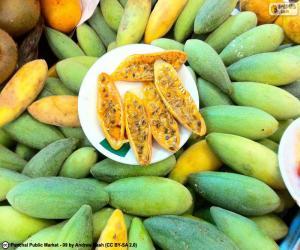 puzzel Vruchten van curuba