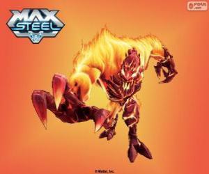 puzzel Vuur Elementor, Max Steel