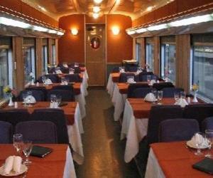 puzzel Wagon trein - Restaurant -