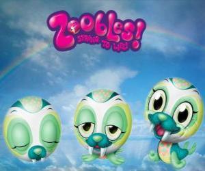 puzzel Walrus Zooble van Chillville