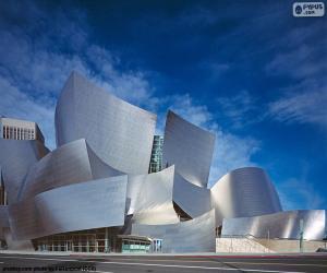 puzzel Walt Disney Concert Hall, Verenigde Staten