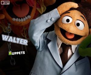 puzzel Walter van de Muppets