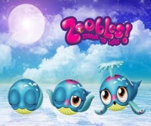 puzzel Walvis, Zoobles van Seagonia