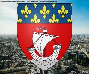 puzzel Wapen van Parijs