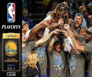 puzzel Warriors, NBA 2015 kampioenen