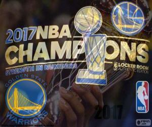 puzzel Warriors, NBA 2017 kampioenen