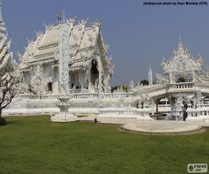 puzzel Wat Rong Khun, Thailand