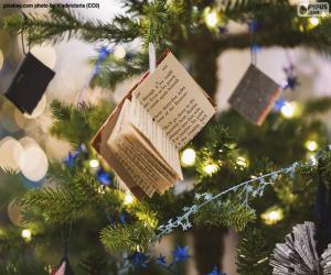 puzzel Weinig de verfraaiingsboeken van Kerstmis