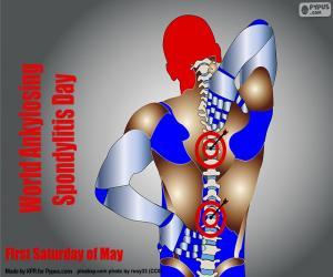 puzzel Wereld Ankylosing Spondylitis Dag