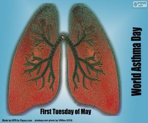 puzzel Wereld Astma Dag